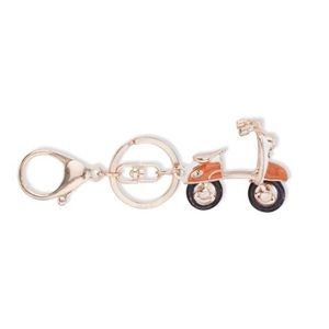 Adorable scooter key chain fob. NWT